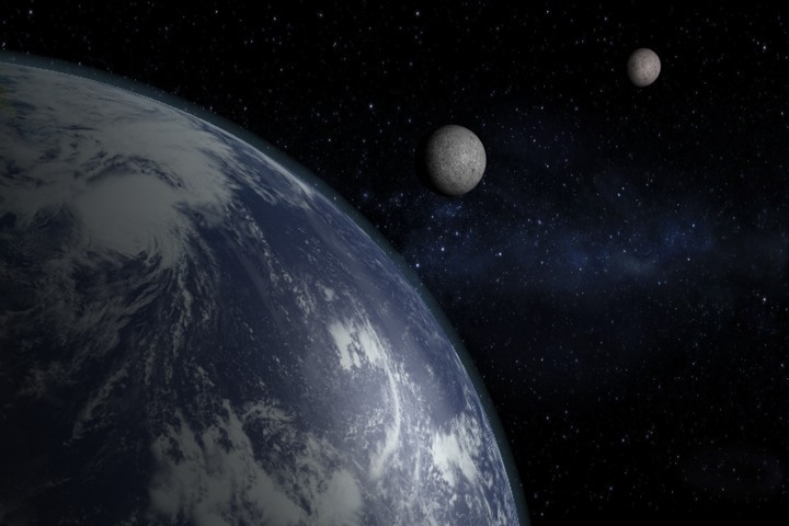 Image result for Science confirms: Earth has more than one 'moon'