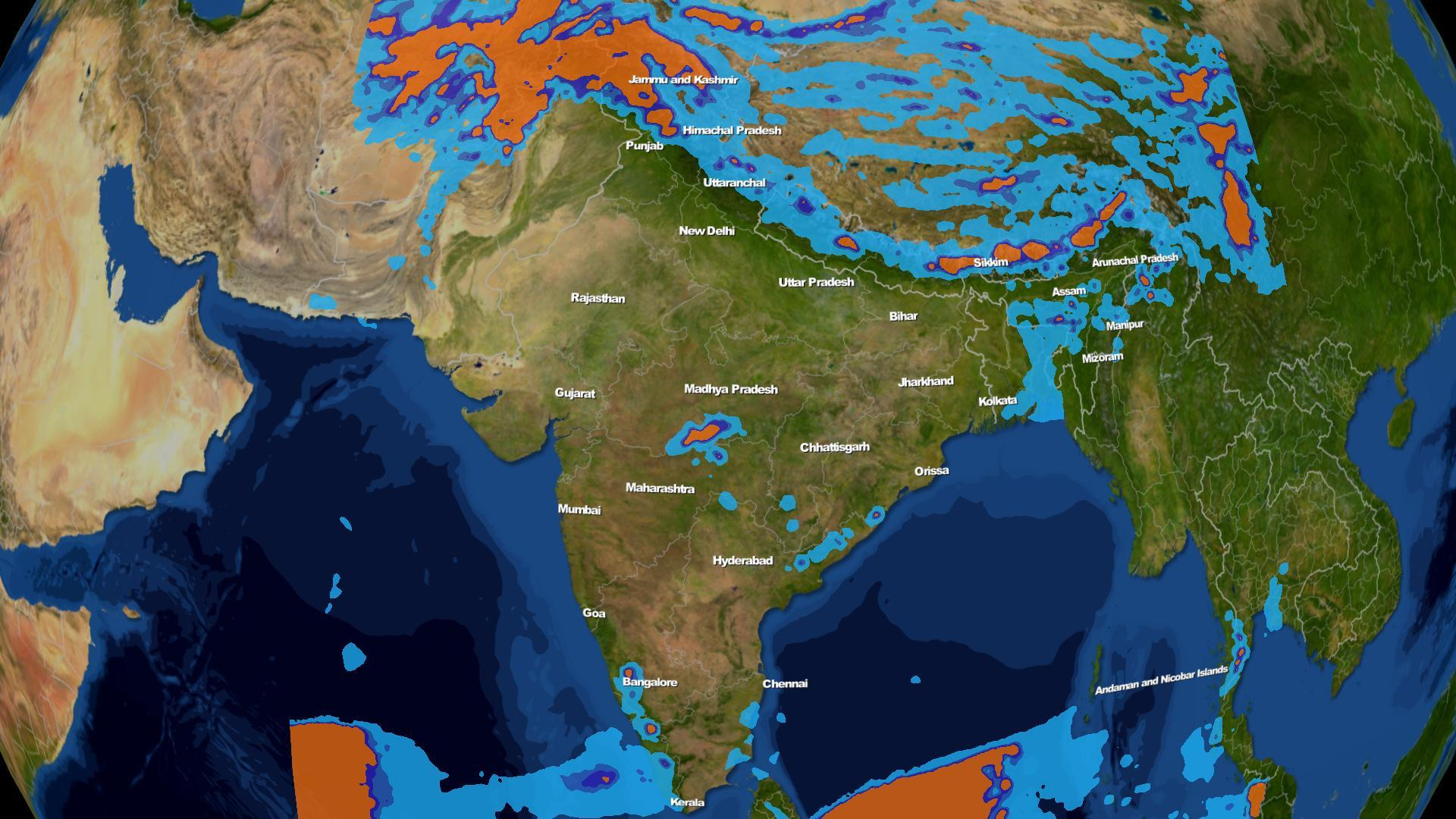 Weather forecast for the week in India 18th-24th March | Skymet ...